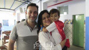 Marcelo Pio, Michele Barrouni e Matheus Barrouin Pio.