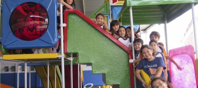 Parkriança: estudantes ganham novo espaço para brincar!