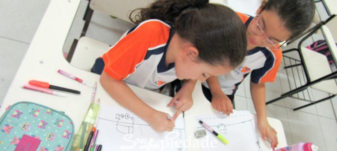Colégio Piedade trabalha a educação no trânsito.