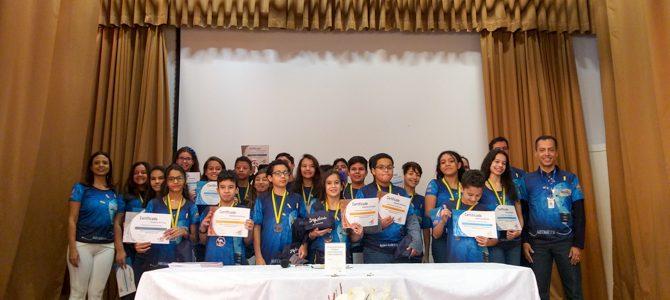 Homenagem aos destaques do Concurso Canguru de Matemática