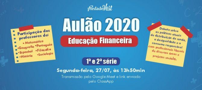Colégio Piedade promoverá um grande debate em torno do tema Educação Financeira