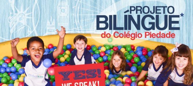 Projeto Bilíngue chegou ao Colégio Piedade