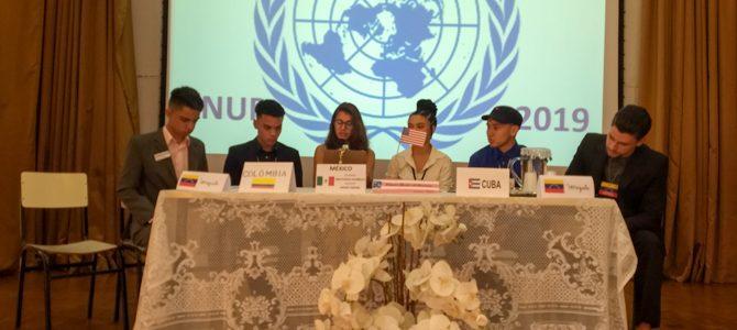 ONU Piedade, estudantes protagonizam debates diplomáticos