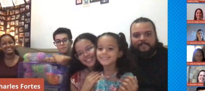 Live de aniversário: a emoção adentrou os lares da Família Piedade!