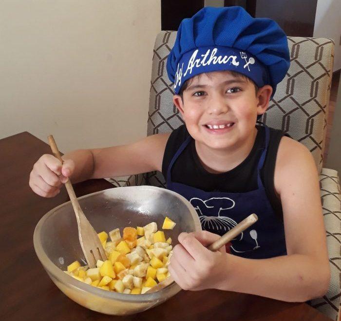 Atividade sobre alimentação saudável aplica cultura maker na prática