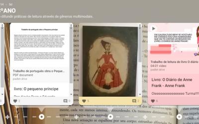 """Projeto """"Leitura.com"""" faz sucesso entre estudantes do 6º, 7º e 8° ano"""